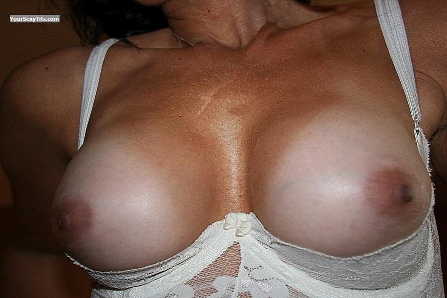Tit Flash: My Medium Tits (Selfie) - Dona from Canada